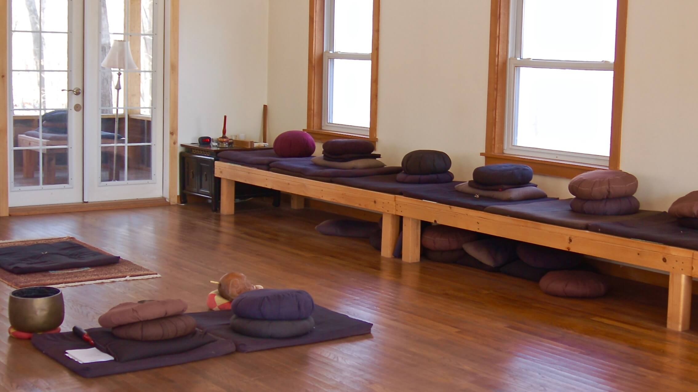 Ithaca Zen Center zendo interior 1