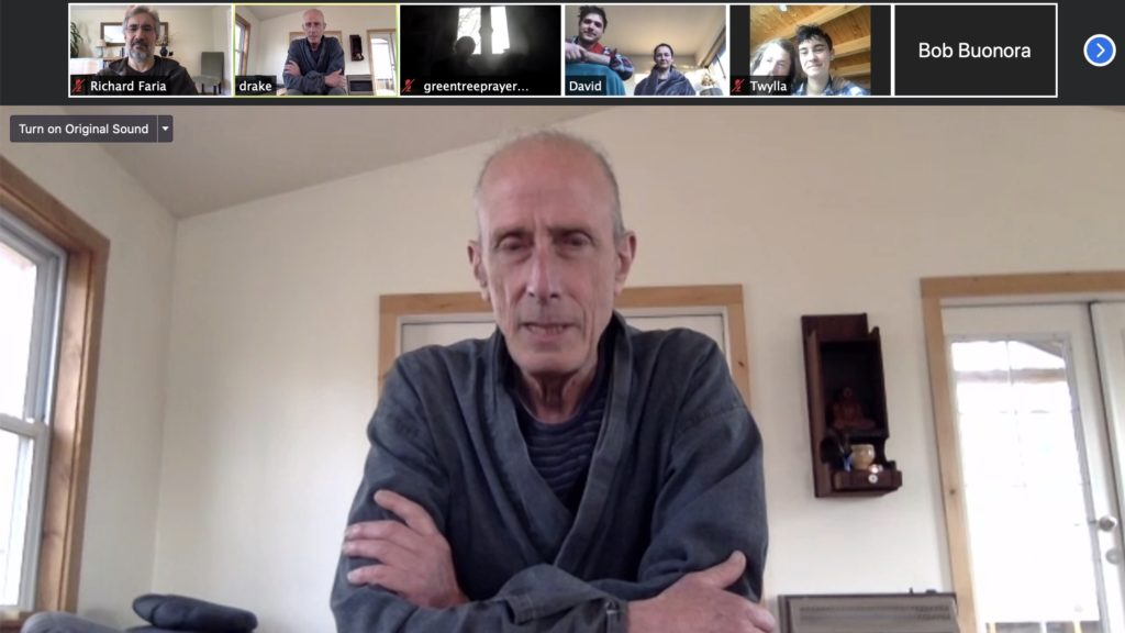 Online group Meditation at IZC